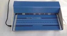 Marque Nouvelle Électrique Couverture de Livre De Rainage Carte Plieuses Couleur Pages Pointillées Machine