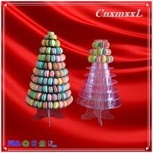 Neue stil macaron clamshell verpackung dispaly fach schmuckschachtel benutzerdefinierte macarons verpackung boxen mit hoher qualität