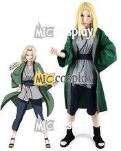Anime Nueva Caliente Naruto Tsunade cosplay Ropa de Fiesta de Halloween