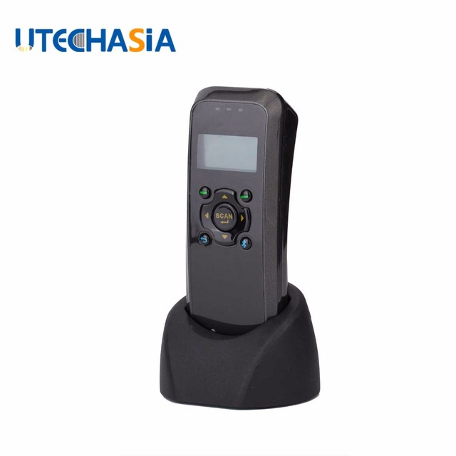 1D Portable Barcode Scanner Laser Data Barcode Reader Terminal Data Collector, Handheld Data Collection for Warehouse