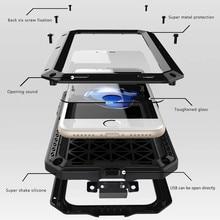 Classic Luxury Metal Armor Outdoor Shockproof Aluminum Case For IPhone 6 6S Plus 7 7 Plus 5S SE 4S Life Waterproof Case Cover