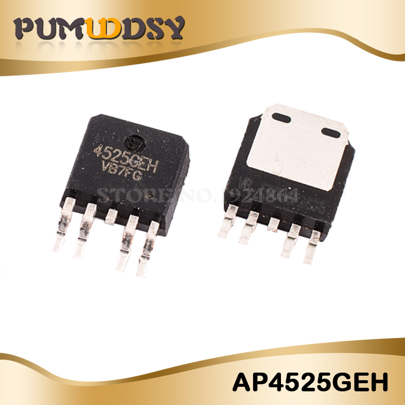 10PCS AP4525GEH AP4525 4525GEH TO-252-5 IC10PCS AP4525GEH AP4525 4525GEH TO-252-5 IC