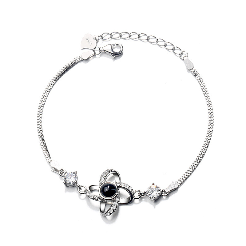 ZTUNG GYP4 Flower silver jewelry,fashion national style bracelet,925 silver bangle for graceful lady sterling silver braceletsZTUNG GYP4 Flower silver jewelry,fashion national style bracelet,925 silver bangle for graceful lady sterling silver bracelets