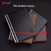 Binli Genuine Leather 20000mAh Power Bank For Mobile Phone Portable Charger External Battery Pack For Iphone