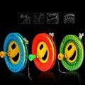 Envío de la alta calidad de gran rueda kite flying juguetes al aire libre paracaídas bolsa de kite kite kite carrete cadena pájaro serpiente