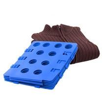 Magic Convenient Clothes Folder Organizer Flip Fold Folding Board for Children cloth Multi-colored Fast Speed Set
