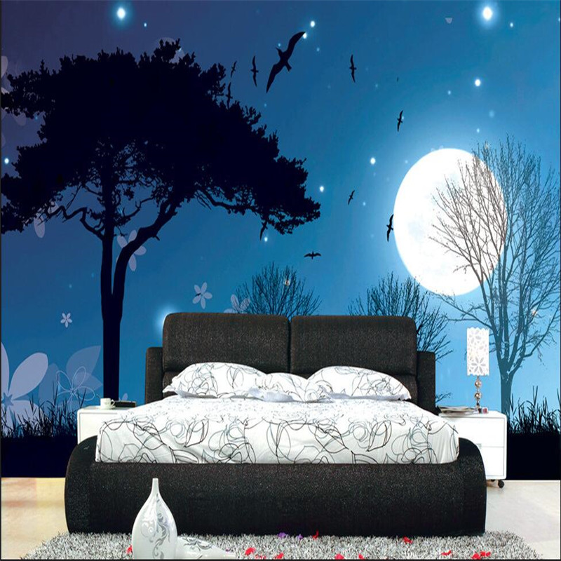 Moon wallpaper for walls gallery for Wallpaper home value