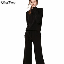 78e506f389fe8 Buy long sleeve pantsuit woman and get free shipping on AliExpress.com