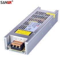 SANPU SMPS 300 วัตต์ 12 โวลต์แหล่งจ่ายไฟ LED 25a แรงดันไฟฟ้าคงที่ Switching Driver 220 โวลต์ 230 โวลต์ ac/ dc Transformer พัดลม 240 วัตต์