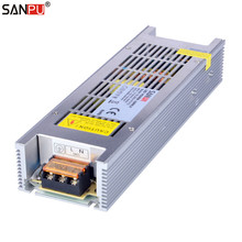 SANPU SMPS 300 واط 12 فولت LED امدادات الطاقة 25a الجهد المستمر التبديل سائق 220 فولت 230 فولت التيار المتناوب/تيار مستمر الإضاءة محول مروحة أقل 240 واط