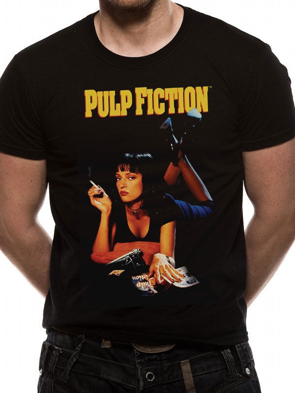 pulp-fiction-uma-thurman-poster-official-font-b-tarantino-b-font-black-t-shirt-mens-fashion-casual-t-shirt-round-neck-short-sleeves-t-shirt