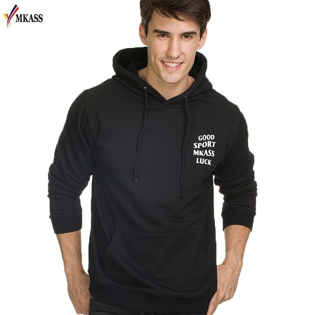 2017 новый прибытие марка мужчины толстовки и кофты мода slim fit хип-хоп напечатаны балахон мужская brand clothing плюс размер m-3xl