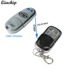 433MHZ 4CH Copy CAME TOP432NA TOP432EV Garage Door Gate Remote Control Switch Duplicator RF 433 mhz Alarm Electronic Transmitter