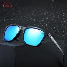 Retro Square Al-mg Leg men women polarized sun glasses sunglasses Custom Made Myopia Minus Prescription Lens -1 to -6