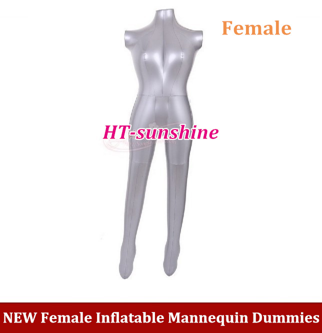 NEW Full Body Dress Pants Underwear Female Inflatable Mannequin Dummies Torso Model