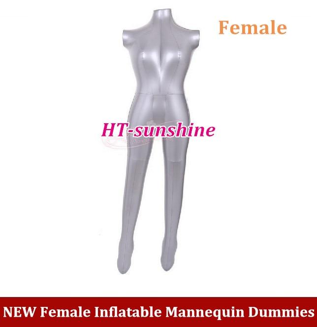 NEW Full Body Dress Pants Underwear Female Inflatable Mannequin Dummies Torso Model
