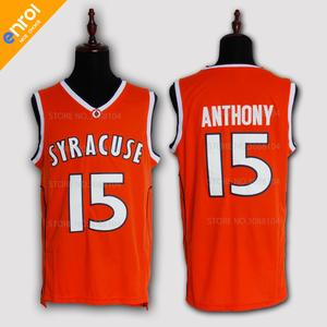 2e7dad7a638d Retro Carmelo Anthony Basketball Jerseys For Men 15   Syracuse University  Throwback