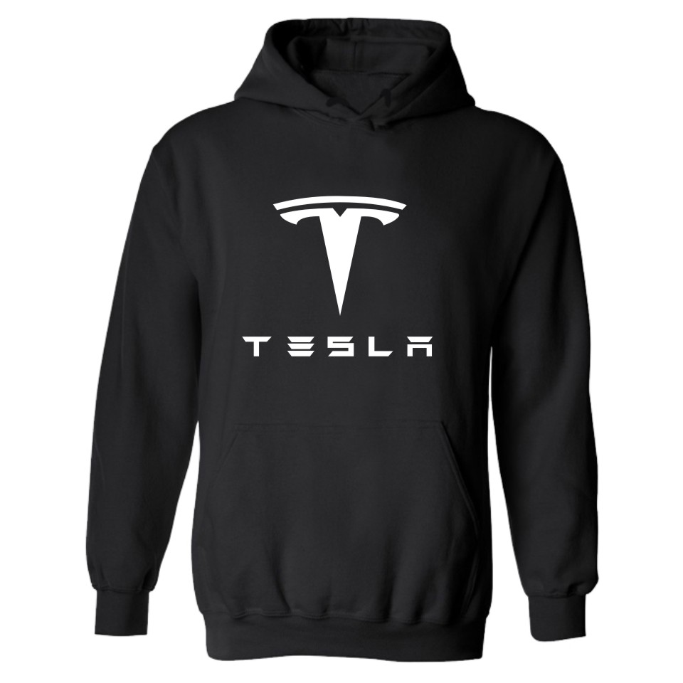 TESLA MOTORS Hooded Mens Hoodies And Sweatshirts Set In FRIDAY Famous Brand TESLA Hoodie ...