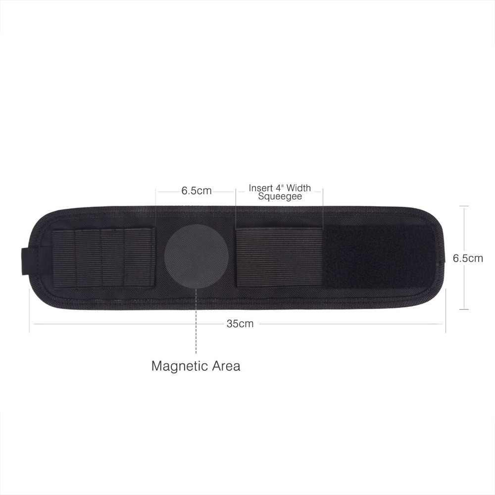 EHDIS, revestimiento para coche de vinilo, muñequera magnética, bolsa de herramientas para sujeción, espátula escurridora de tinte de Ventanilla, cuchilla para envolver, película magnética, bolsas para cintura