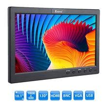 EYOYO S101 10″ inch 400:1 TFT LCD Monitor Display screen 1024*600 USB HDMI BNC VGA Video Audio With Speaker For CCTV DVR VCD FPV CCD