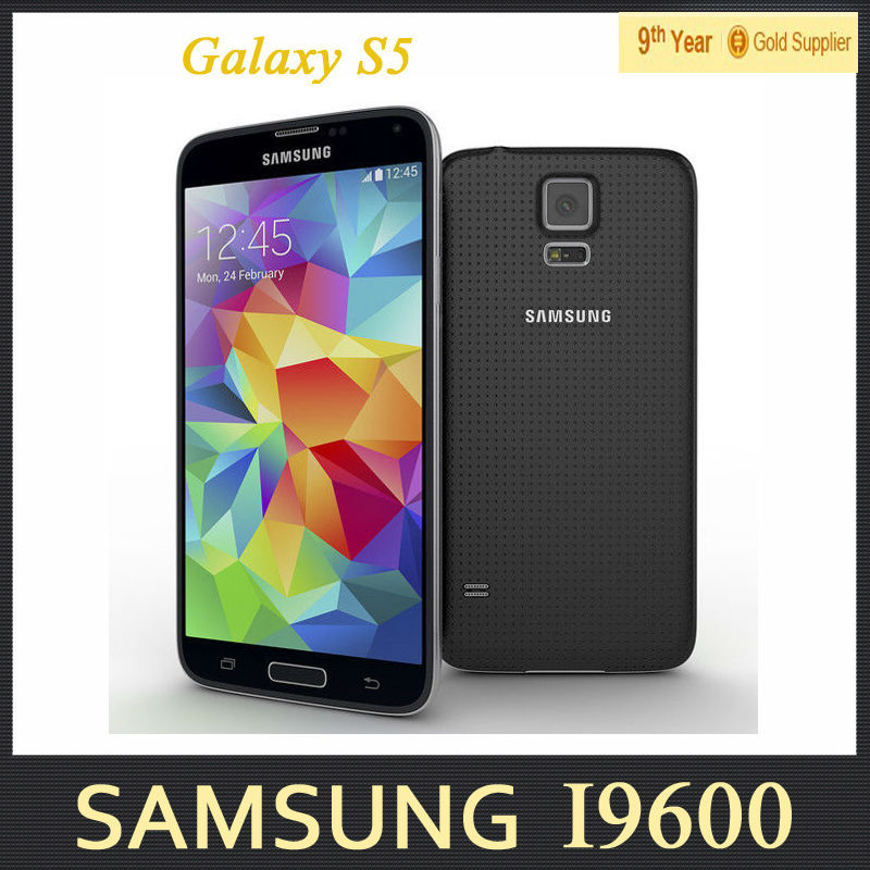 s5 samsung galaxy s5 i9600 g900f cell phones 16mp camera quad core 5 1 inch screen gb ram 16gb. Black Bedroom Furniture Sets. Home Design Ideas