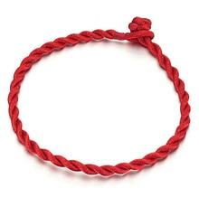 Friendship Red String Bracelet Simple Tiny Women Men Baby Children Good Luck Bracelet