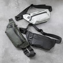 Водонепроницаемая Мужская поясная сумка, модная нагрудная сумка, спортивная сумка через плечо на открытом воздухе, Повседневная дорожная Мужская поясная сумка