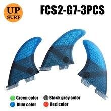 Surf Fins FCS2 G7 blue