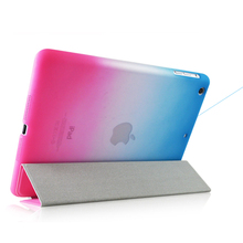 For New iPad 9.7 2018 Case PU Leather Hard PC Back Cover Sleep Wake A1822 A1893 Smart Stand Cases for iPad 2018 Case 9.7 inch case for apple 2017 2018 new ipad 9 7 inch ycjoyzw pu leather slim magnetic front smart cover skin hard pc back sleep wake up