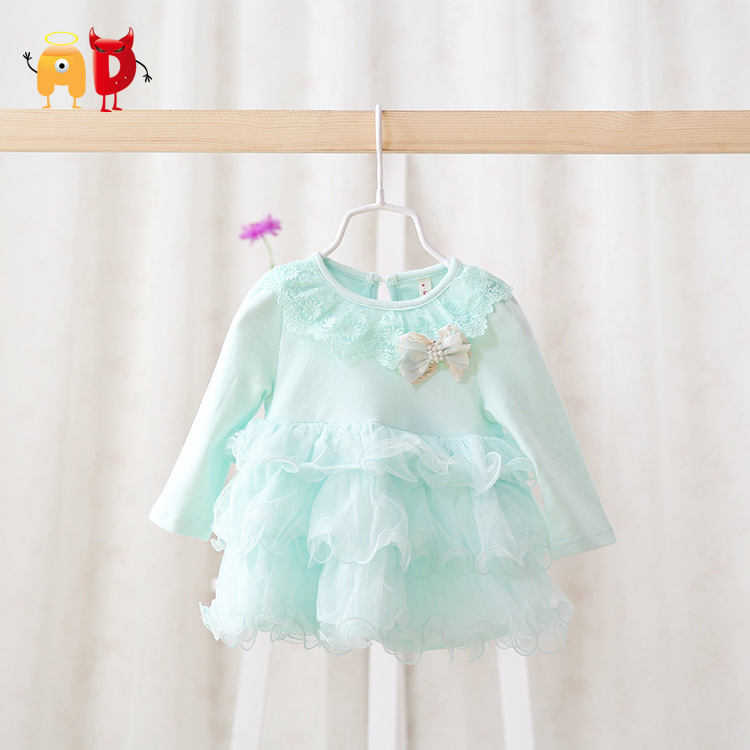 AD 4 24M Beautiful Baby Girls Dress Summer Style Quality