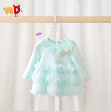 AD 4-24M Beautiful Baby Girls Dress Summer Style Quality Cak