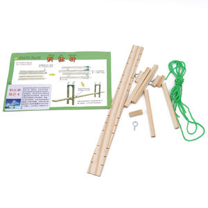 New-Product Model Science Puzzle Homemade DIY Creative Teaching-Aid Experimental Cable-Stayed