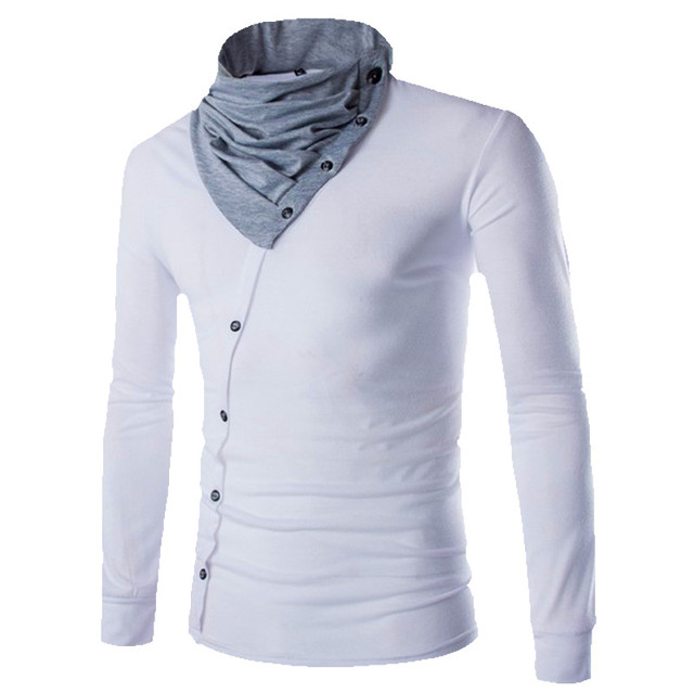 High collar tee shirts kamos t shirt for Best place to buy mens t shirts