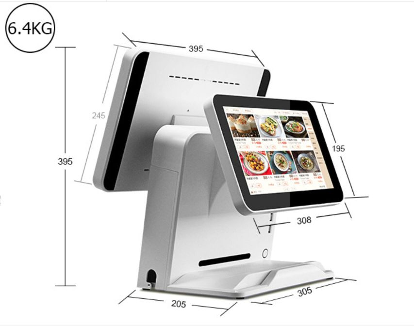 15.6 Inch Touchscreen All In One Pos With Printer