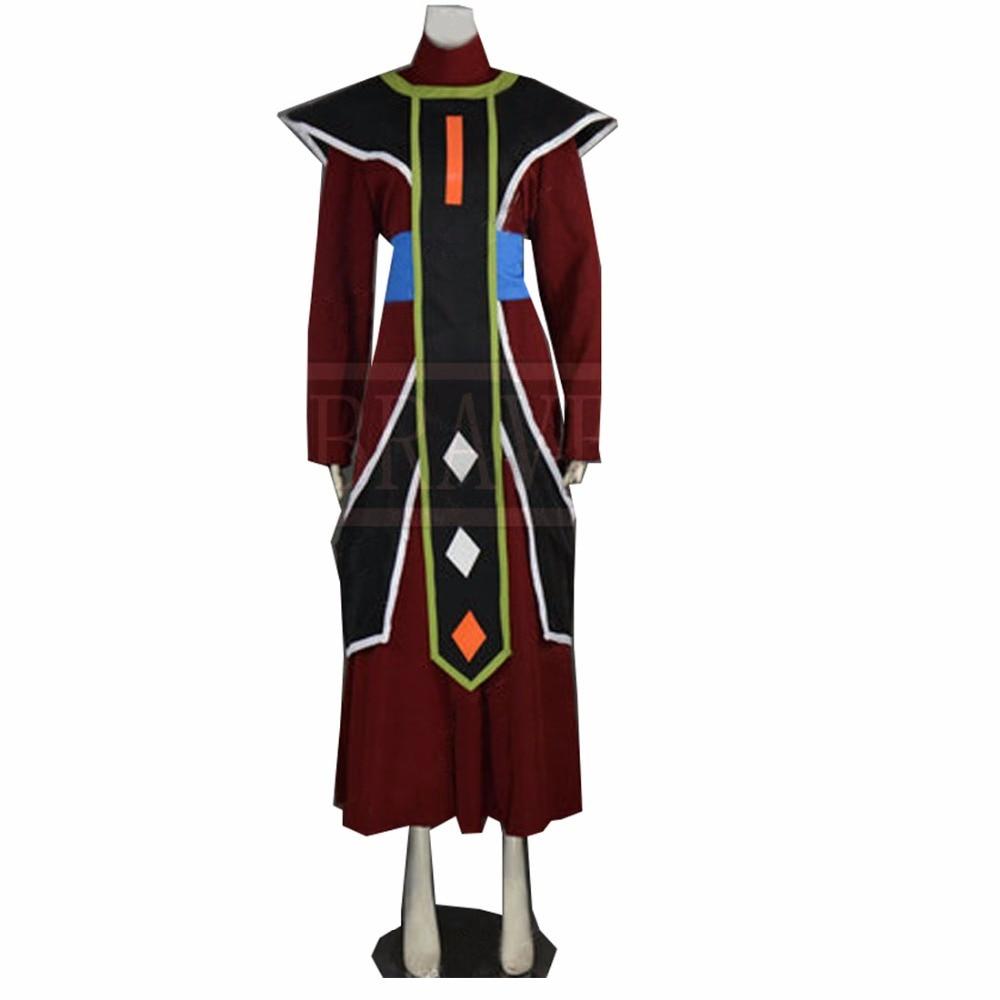 2018 Dragon Ball Whis Costume de Cosplay