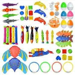 Подводное плавание бассейн для дайвинга Игрушки Летние для плавания, дайвинга набор игрушек надувные нарукавники для плавания, палочки