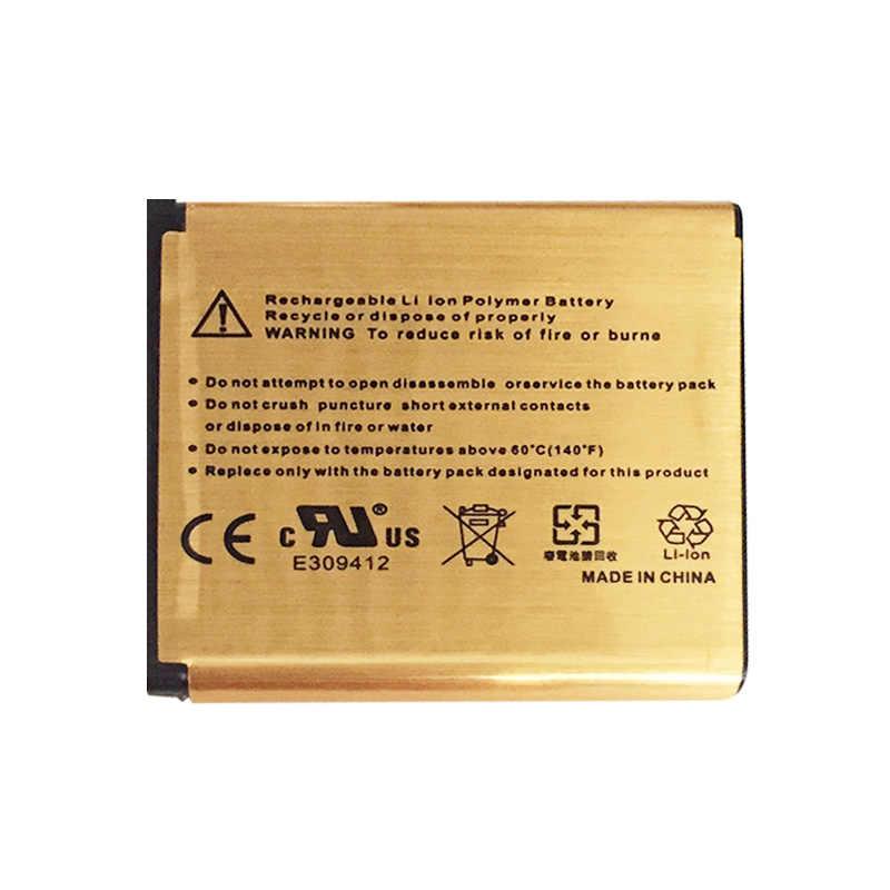 3.7V 2080mAh الذهبي BST-38 BST 38 الهاتف بطارية لسوني إريكسون W580 W580i w760 T650 U20 X10 البسيطة برو K850 k850i Z770i C902