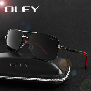 OLEY Polarized Sunglasses Men Eyes Sun Glasses driving