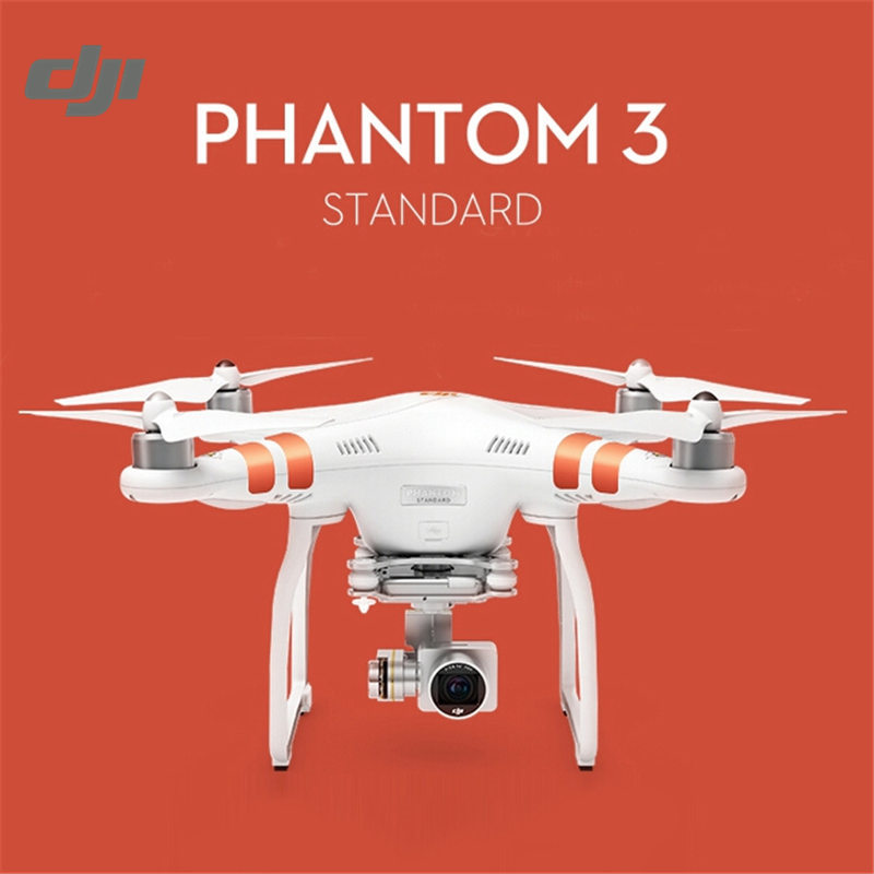 Original DJI Phantom 3 Standard GPS FPV With 3 Axis Gimbal 2.7K HD Camera RC Quadcopter RTF With Remote Control yuneec typhoon h 5 8g fpv drone with realsense module cgo3 4k camera 3 axis gimbal 7 inch touchscreen rc hexacopter rtf