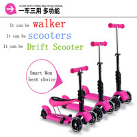 Free Shipping Factory Direct 3 In 1 Baby Walker Baby Scooter Baby Scooter Outdoor Activities