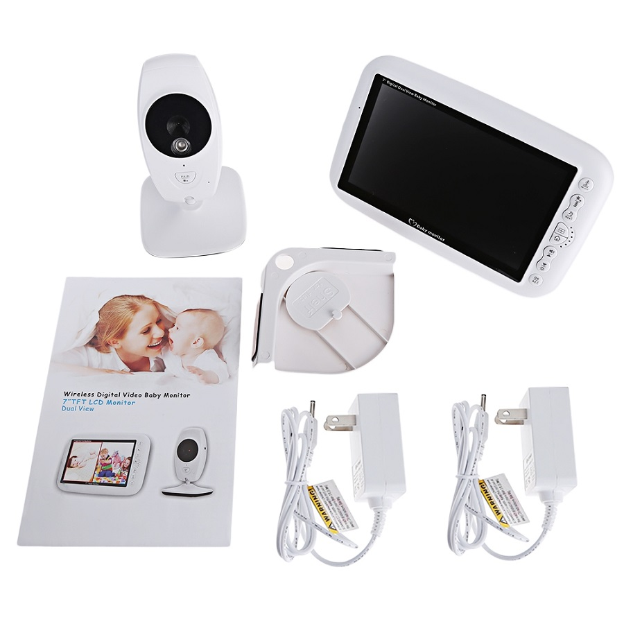 baby video monitor security