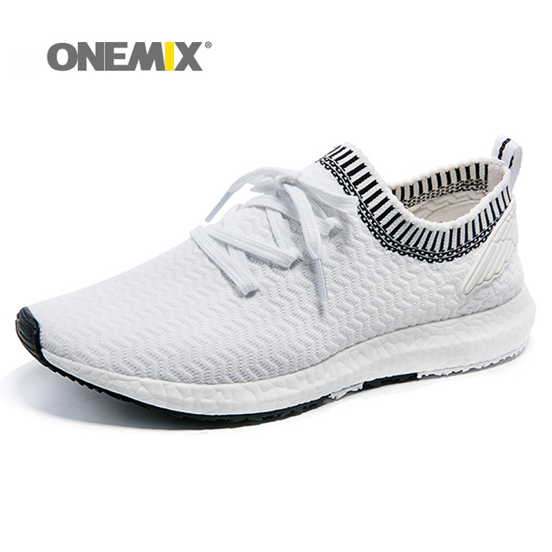 New arrival onemix outdoor trainer shoes for mens sport walking increasing women running run shoes size 36-45