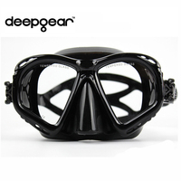 Cena Sereno silicone scuba diving mask Top prescrizione miope ottica diving mask Adulto snorkel ingranaggi attrezzatura subacquea-in Maschere da sub da Sport e intrattenimento su