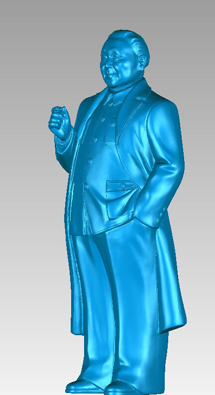 3D Model For Cnc 3D Carved Figure Sculpture Machine In STL File Format China's Great Man
