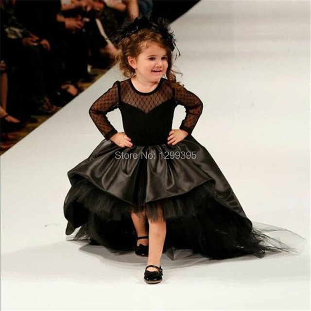 Vestidos de fiesta para ninas color negro