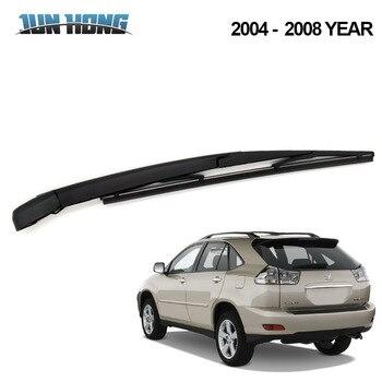 JunHong Rear Wiper Blade And Arm For LEXUS  RX 2004 2005 2006 2007 2008 Windscreen Rubber Car Accessories Rear Window