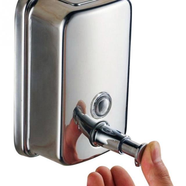 500ml hand soap dispenser wall mounted soap liquid shampoo sanitizer dispenser box bathroom accessories