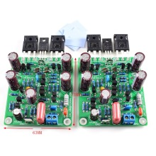 One Pair L7 Dual Channel High Speed FET Class AB Audio Amplifier Board IRFP240 IRFP9240 LJM muses01 dip8 1pcs lot audio j fet input fever dual op amp high fidelity sound quality