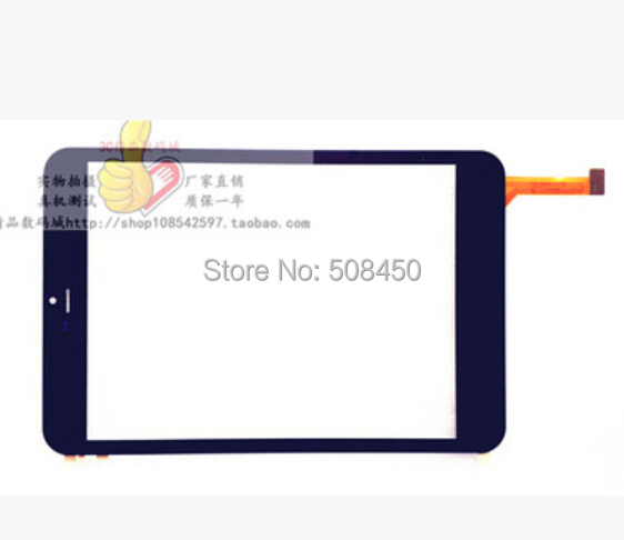 Black/White New 7.85 RoverPad Air 7.85 3G Tablet touch screen touch panel digitizer glass replacement MT70821-V3 Free Shipping