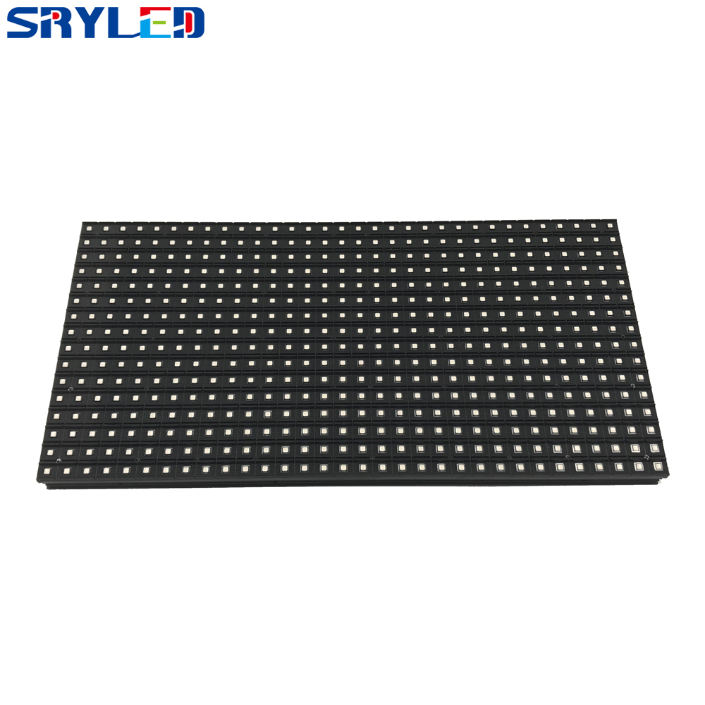 320x160mm SMD3535 Full Color P10 Outdoor 32x16matrix 1/4scan Waterproof LED Module With Data & Power Cable